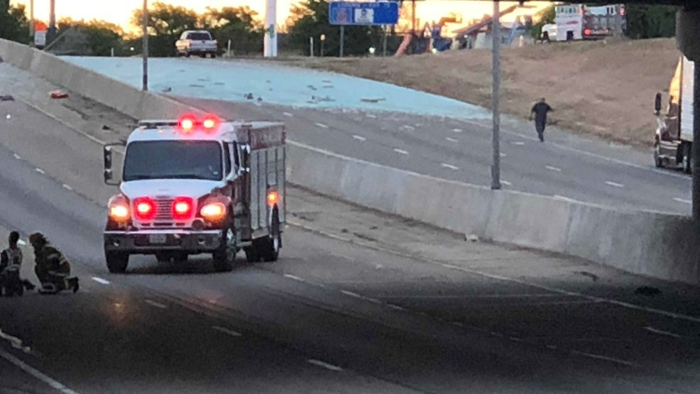 Traffic being rerouted along Interstate 40 at Grand Street | KVII