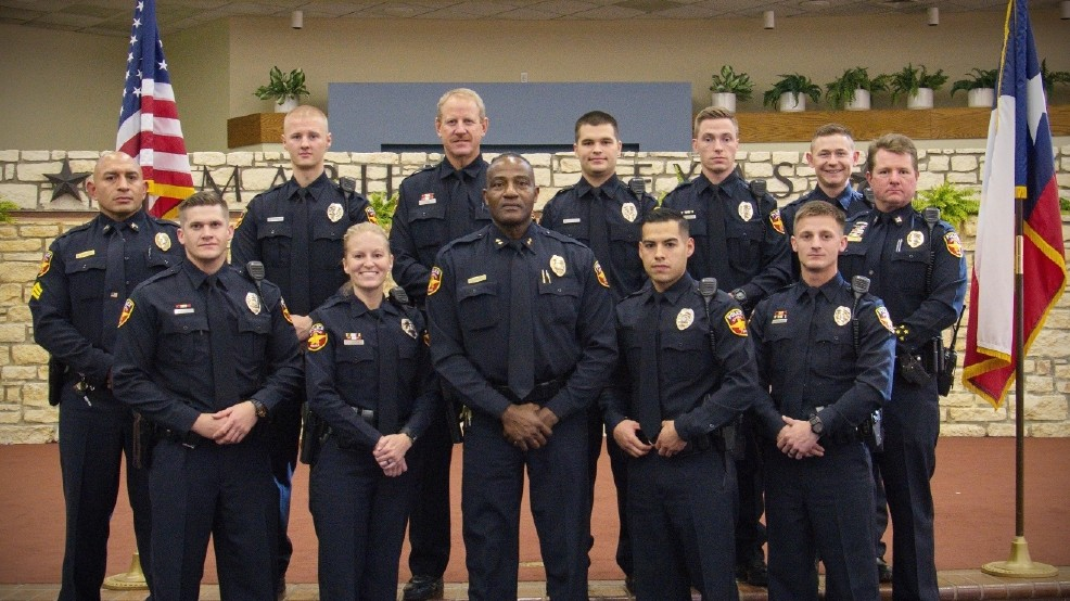 9 Students Graduate From 89th Amarillo Police Department Police