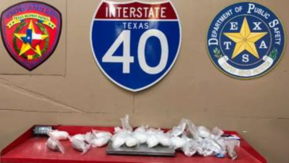 36 pounds of meth seized by DPS Troopers after Carson County