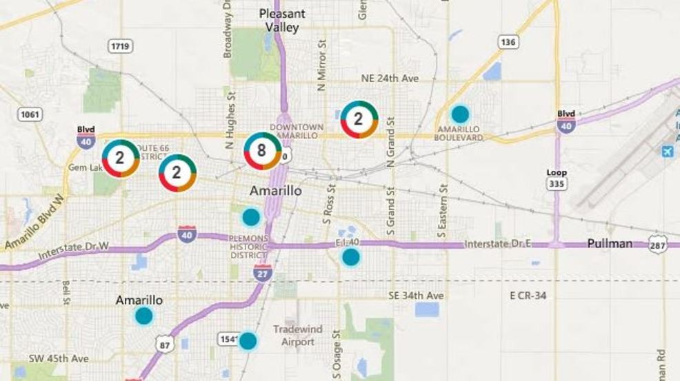 Xcel Energy: Power Outages affecting parts of downtown Amarillo | KVII