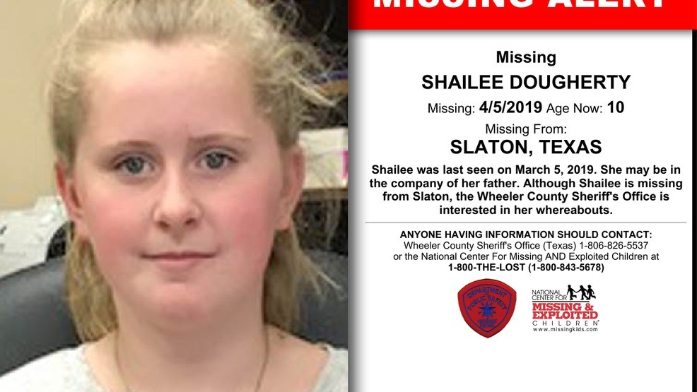 Missing child out of Slaton, has ties to Wheeler County | KVII
