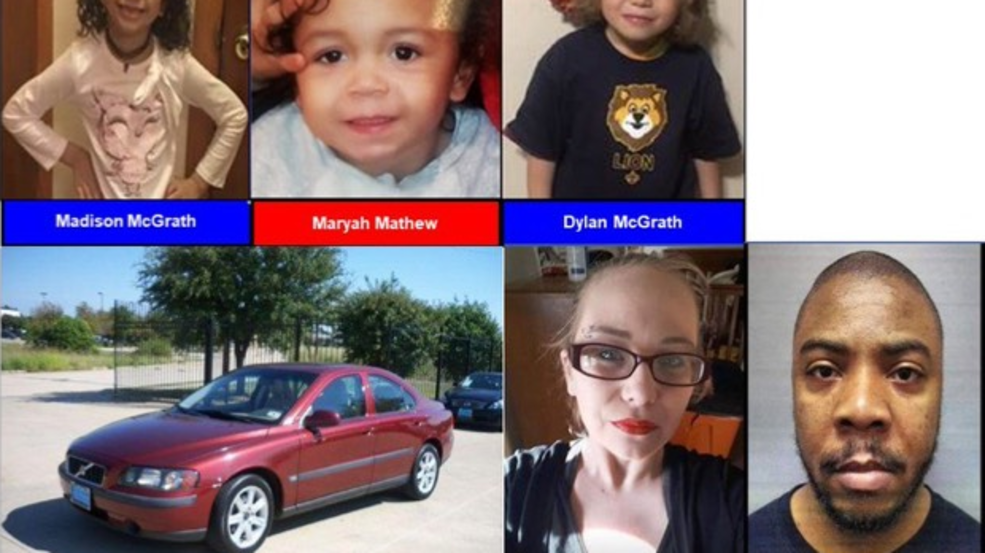Amber Alert Officials Search For Three Abducted Children Two Suspects Kvii