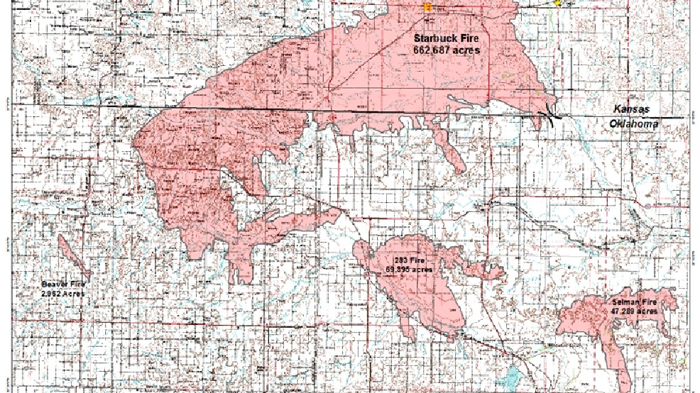 Oklahoma wildfire containment increases; Forestry Service reports ...
