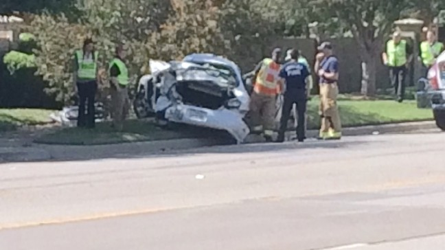 2 taken to hospital after 3-vehicle crash in Southwest Amarillo | KVII