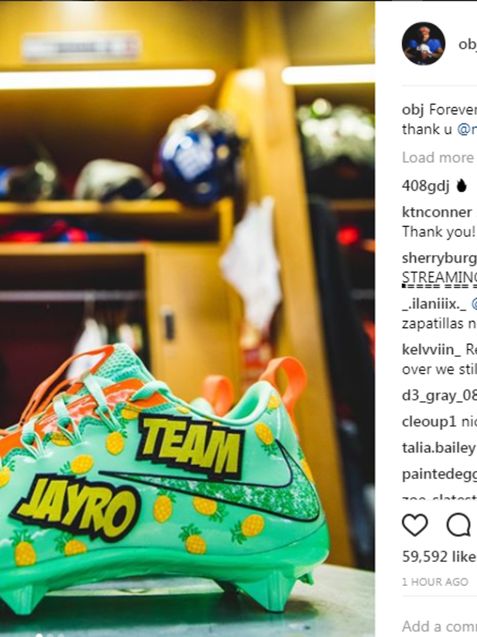 Espectador período de múltiples fines  Nike makes cleates for Texas boy who's dying wish was to meet Odell Beckham  Jr. | KVII