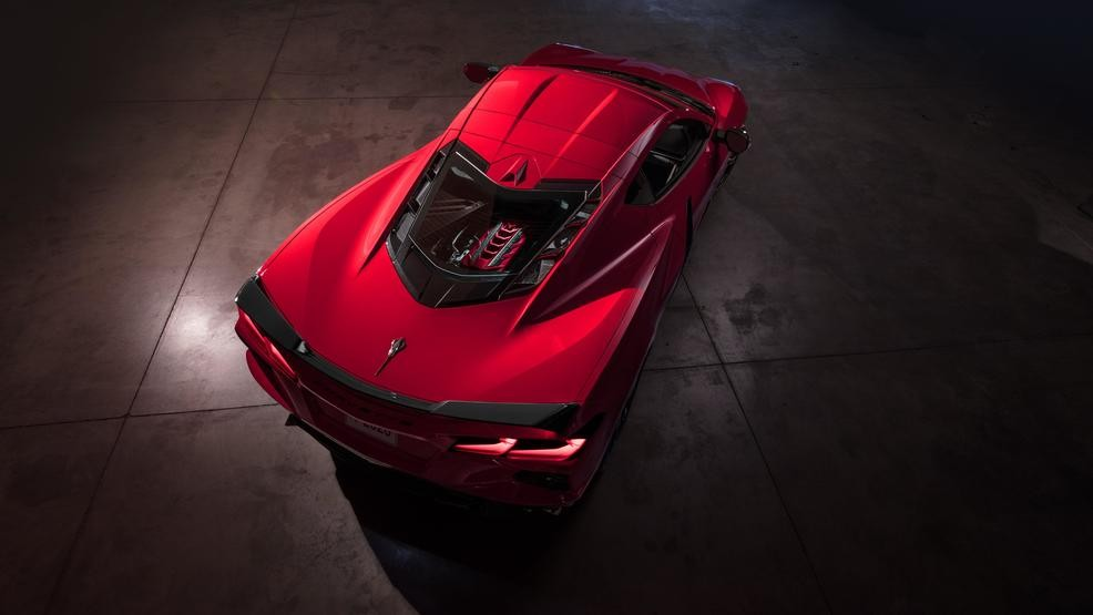 2020 Chevrolet Corvette General Motors Finally Unveils C8 Mid