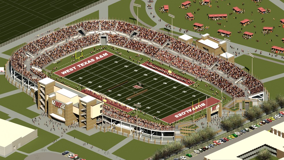 West Texas A&M University >> Wtamu Releases Full Details On Approval Of Football Stadium