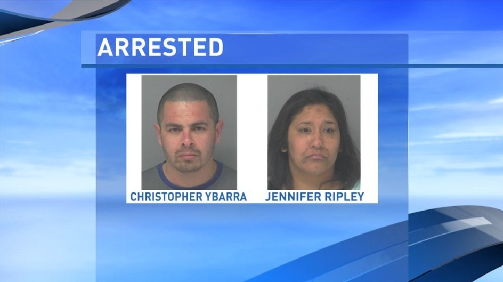 Pair arrested after officers watch them steal from Walmart