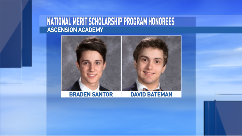 2 Ascension Academy students honored by National Merit